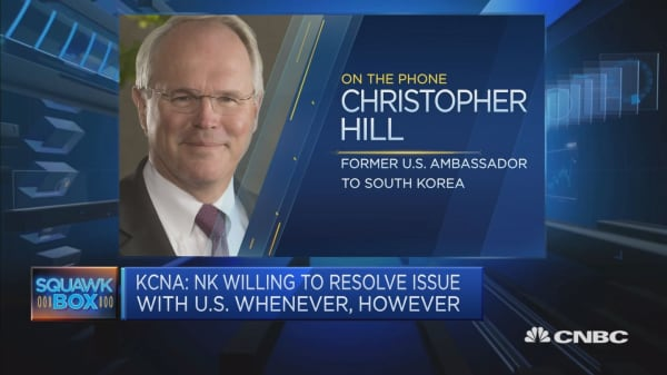 This former US negotiator with North Korea says there were 'excessive expectations'