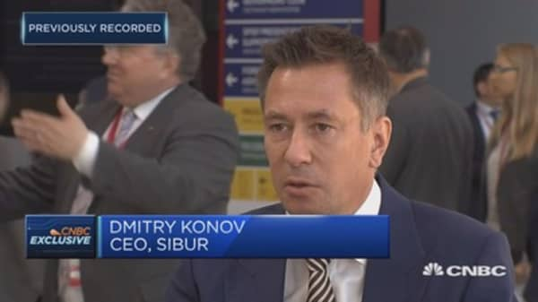 Sibur CEO: There are pockets of growth in Russian economy