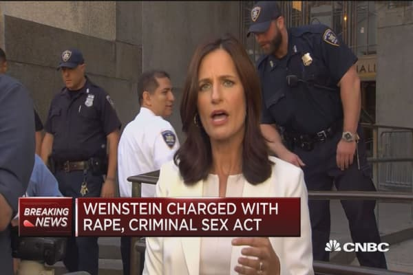 Weinstein charged with rape, criminal sex act, sexual abuse and sexual misconduct