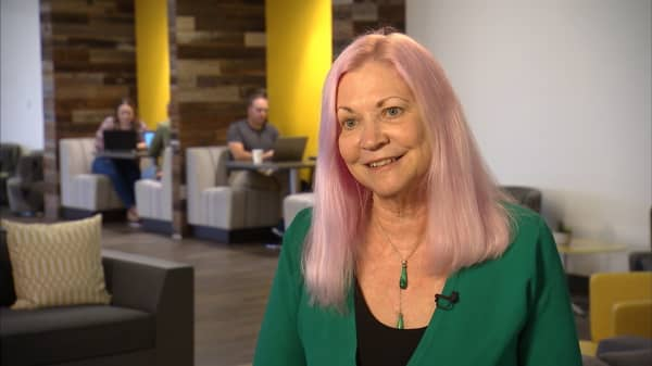 The pink-haired CEO of a $2 billion tech company on #MeToo and equal pay