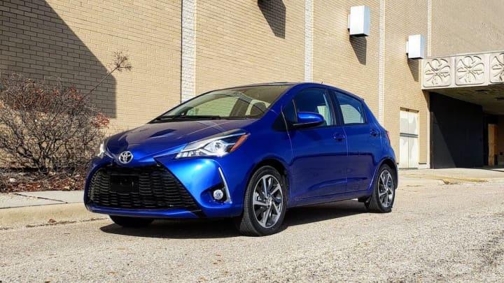 The 2018 Toyota Yaris 5-door