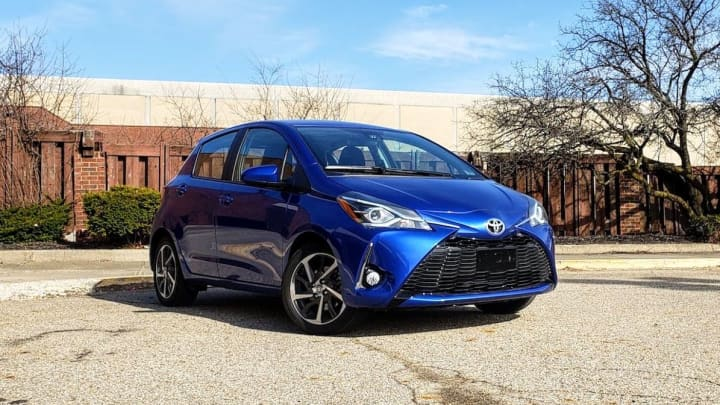The 2018 Toyota Yaris 5-door