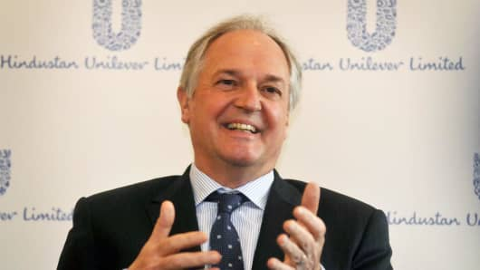 Unilever Global CEO Paul Polman.