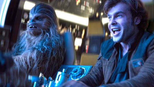 A scene from Solo: A Star Wars Story.