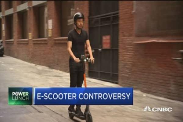 E-SCOOTER STARTUPS RIDING INTO CONTROVERSY IN SF, LA