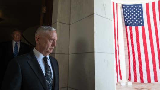 Defense Secretary Mattis Credits Reading Habit For Leadership Skills