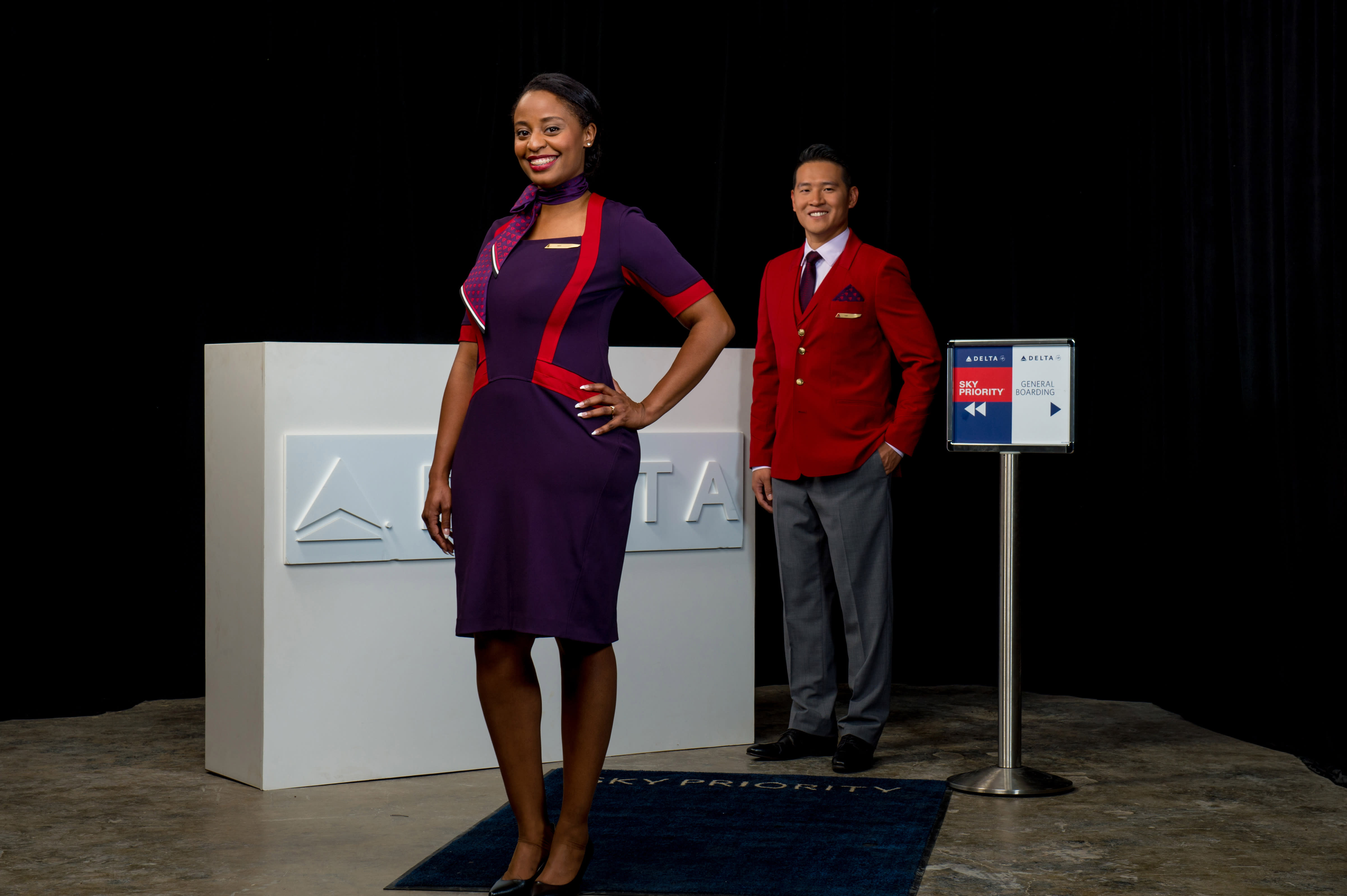 Watch Deltas new uniforms are giving some flight attendants rashes video
