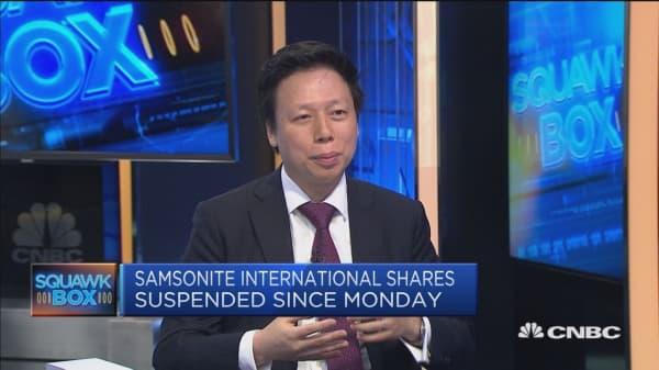 Discussing the short-seller allegations on Samsonite