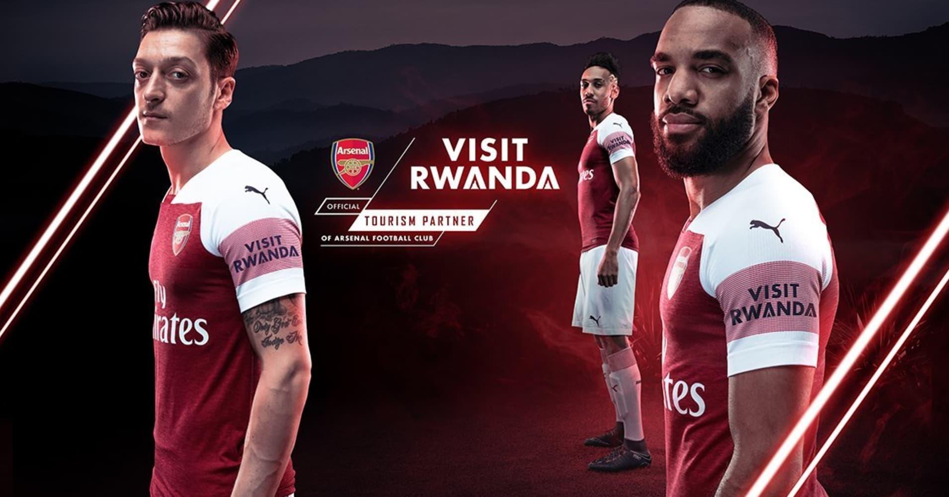 Arsenal caught in sponsorship row over Rwanda deal