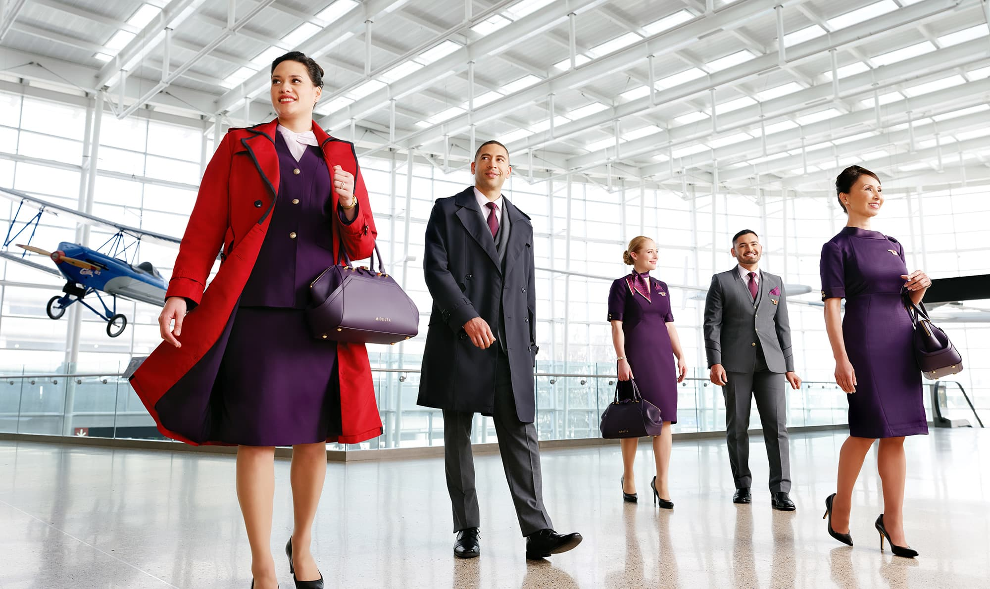 ce879207115 Delta Air Lines  new Zac Posen uniforms will go with shorter heels