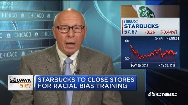 Tragic that Starbucks will lose customers and profit today, says former McDonald's CEO