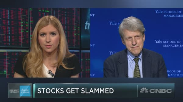 Robert Shiller on valuations, Europe turmoil and bitcoin