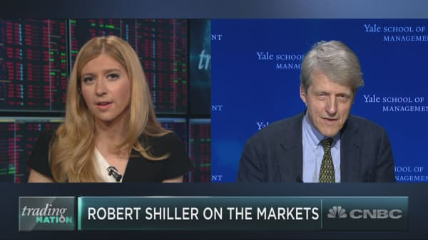 The Trump factor is keeping bull market alive: Yale's Robert Shiller