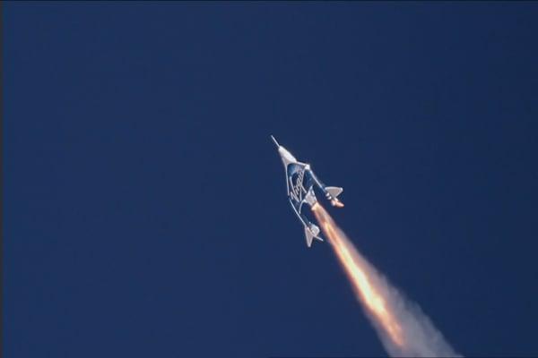 Richard Branson's space tourism company just hit a major milestone