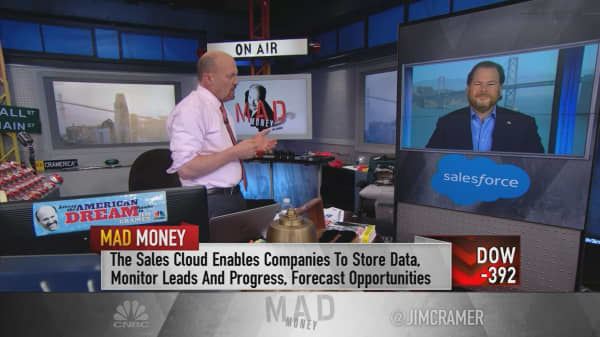 Salesforce CEO Marc Benioff: The economy is really ripping