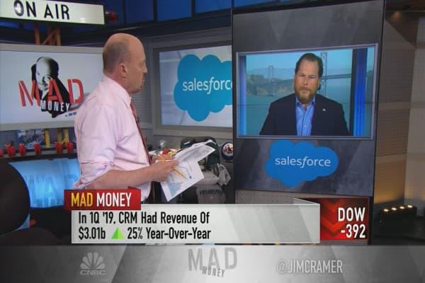 Economy really ripping: Salesforce's Benioff