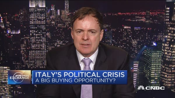 Italy's political crisis: a big buying opportunity?