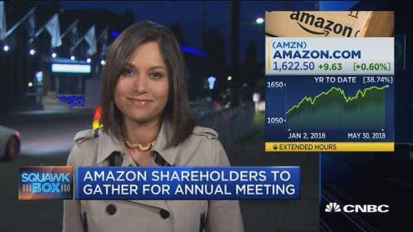 What to watch at Amazon's annual meeting