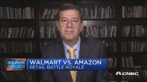 Clash of the retail giants: Amazon vs. Walmart