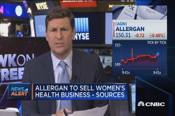 Allergan to sell women's health and infectious disease units: Sources
