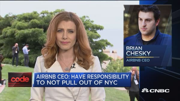 Airbnb CEO: Will be ready to IPO next year but don't know if we will