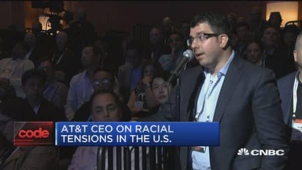 AT&T CEO: We're focused on winning DOJ case