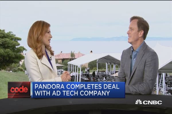 Pandora CEO: We've weathered lots of competition and are still number one