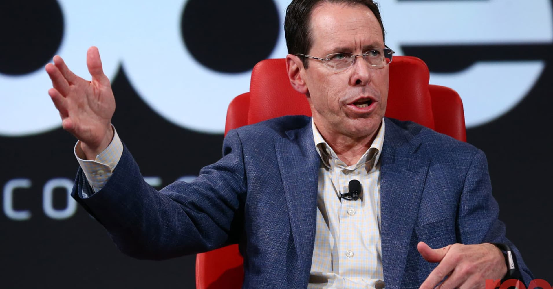 AT&T CEO wasn't surprised when US government sued to block Time Warner deal