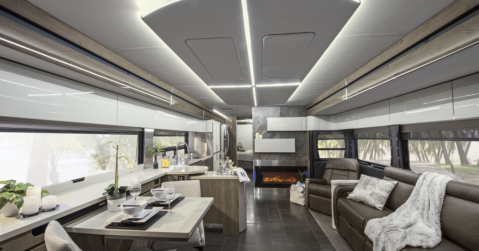 Winnebagou0027s New Horizon Is Bringing Sleek, Uncluttered Design Cues To The High  End Of The
