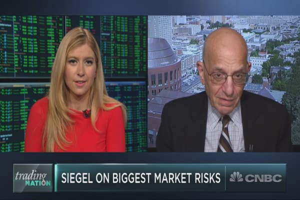 'Caution is the word here,' Wharton's Jeremy Siegel says