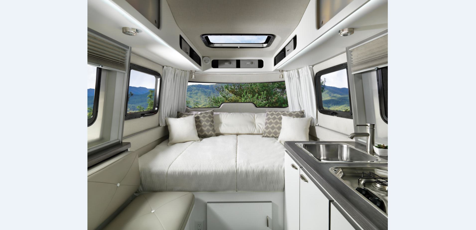 7 New Rv Models Taking Classic Summer Vehicle Into The Future Off Grid Solar Power System On An Recreational Or
