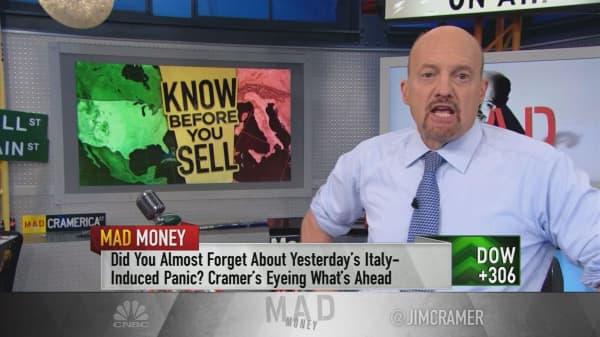 Cramer: 5 reasons the stock market rebounded
