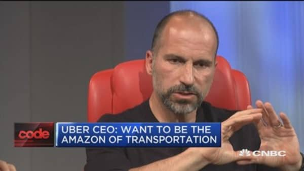 Uber CEO on vision for the future