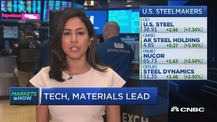 Markets eye Trump's tariff decision