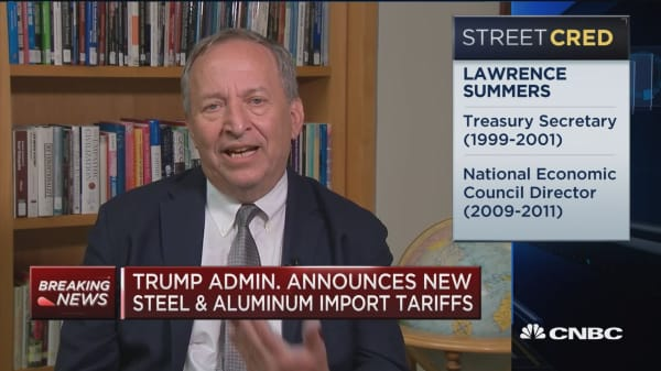 Former Treasury Secretary Larry Summers: I'm appalled by Trump's trade actions