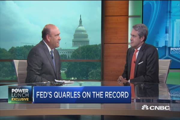 Fed's Quarles on Trump's new tariffs and interest rates