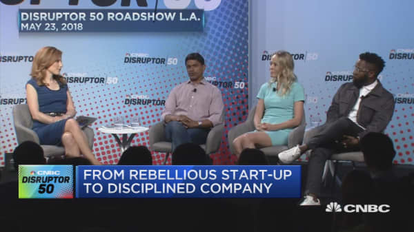 From Rebellious Start-up to Disciplined Company