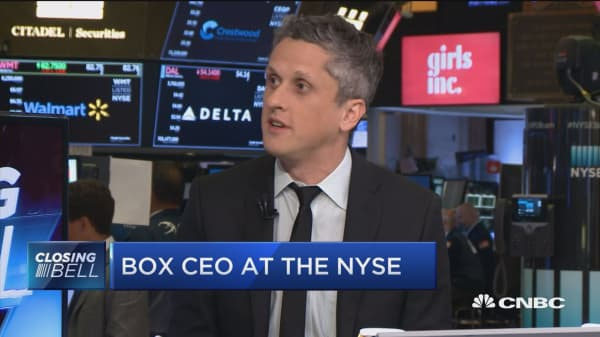 Box's Levie: We may make small acquisitions
