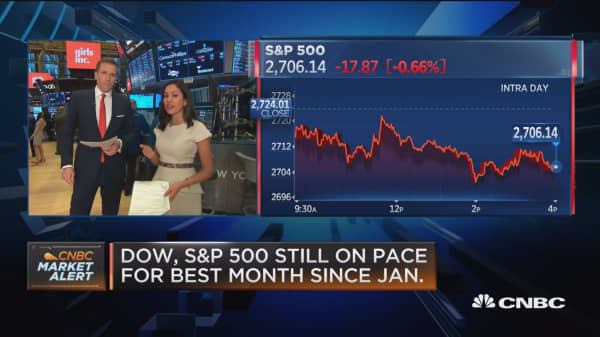Trade fears spook stocks