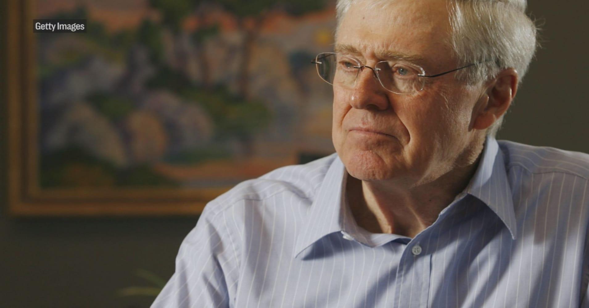 Koch Brothers Battling Potus Trump Tariffs Economic Adviser Larry