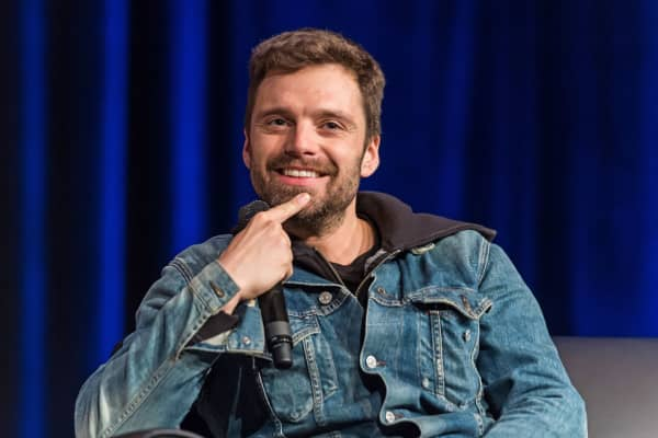 Actor Sebastian Stan attends the 2018 Wizard World Comic Con at Pennsylvania Convention Center on May 19, 2018 in Philadelphia, Pennsylvania.