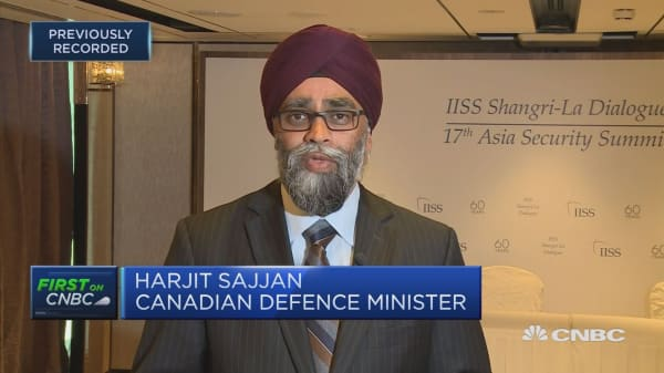 Absurd to consider Canada a security risk due to steel: Defense Minister