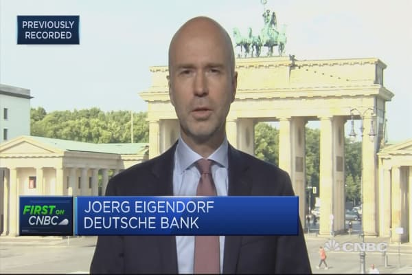 Deutsche Bank is an easy target but we're working to be less vulnerable to speculation: Comms head