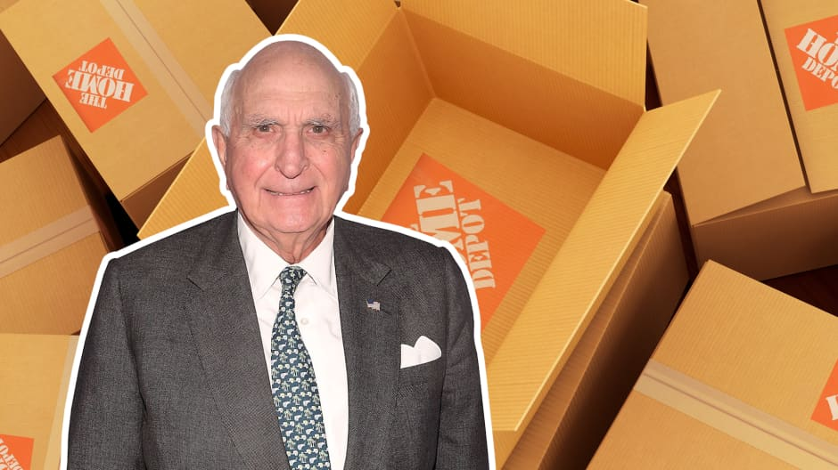 Home Depot's co-founder used to stock shelves with empty boxes in the early days