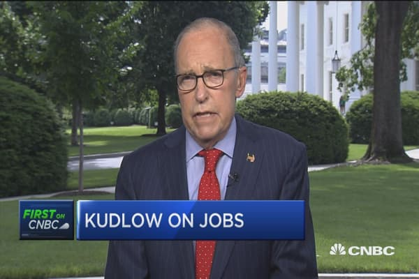 Kudlow: Jobs report show continue growth and low unemployment