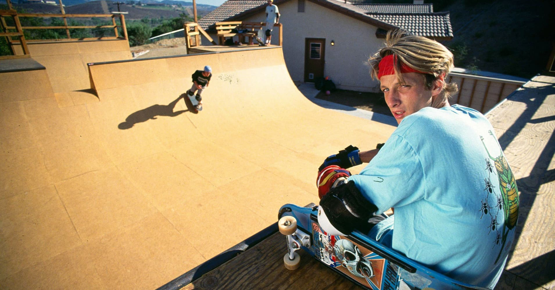 Tony Hawk: Buying a house was one of his smartest investments