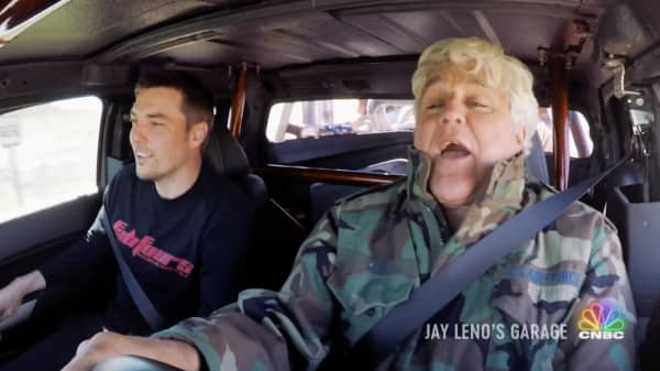 Jay Leno takes a ride in one of a kind cars on an all new episode