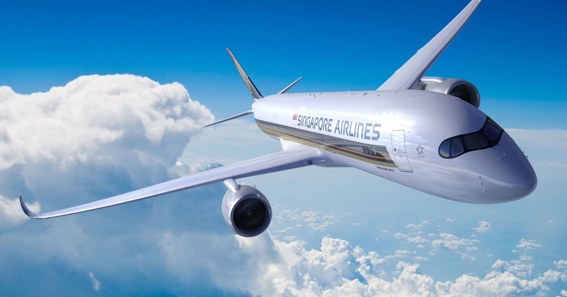 The Airbus A350 URL has two engines instead of four, helping carriers save on fuel costs.
