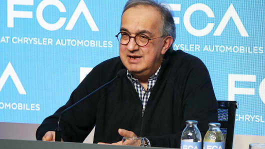 Sergio Marchionne, CEO, Fiat Chrysler