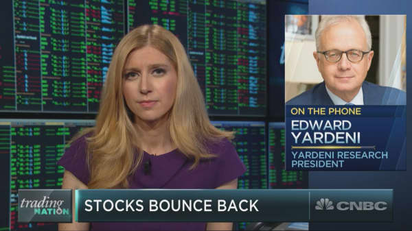 The 'strong signal is earnings,' super bull Ed Yardeni tunes out geopolitical 'noise'